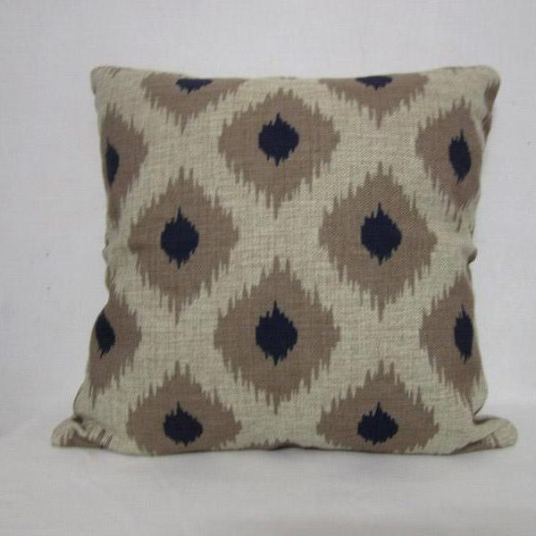 Decorative Linen Pillow Cushion Cover Geometry Dot Pillow Decor Housewares 18""